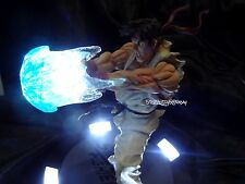 Street Fighter Ryu Hadouken Statue - LIGHTS UP! ONLY 1000 MADE Capcom