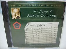 THE LEGACY OF AARON COPLAND, The United States Army Field Band, Altissimo, NEW
