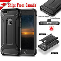 For iPhone 7 8 SE 2020 Case Full Body Shockproof Heavy Duty Cover Tempered Glass