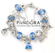 Pandora Bracelet Silver  Disney Princess Cinderella European Charms