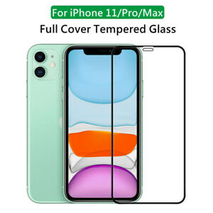 Full Cover Tempered Glass Screen Protector Film for iPhone 12 11 Pro Max 7 XR SE