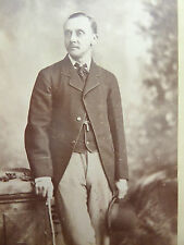 1880s Victorian Cabinet Card Photograph by Whitlock of Birmingham