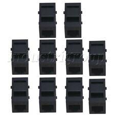 Black Cat3 Sound Voice Insert Module RJ-11 Phone Line Coupler Pack of 10