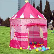 bunten Bällen Pop Up Spielzelt Prinzessin Kinder Spielhaus Baby Bällebad ES