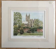 Canterbury Cathedral East Print By Philip And Glyn Martin Signed Limited Edition