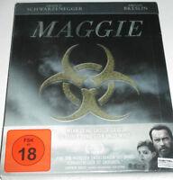 Maggie - Blu-ray/NEU/Horror/Drama/Arnold Schwarzenegger/lim Steelbook/FSK 18