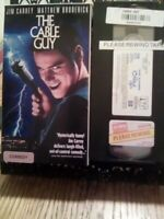 The Cable Guy (VHS,1996) Slip Sleeve Jim Carrey Matthew ,Broderick