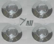 4 CAP DEAL EAGLE ALLOYS ALUMINUM WHEEL RIM CENTER CAPS WITH SCREWS LOCKS 3121