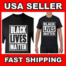 BLACK LIVES MATTER T-Shirt Mens Womens Anti Racism Protest Say No To RACISM Gift