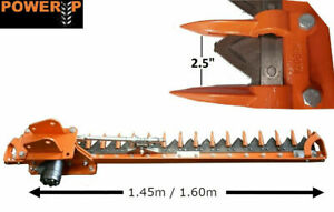 Mini Digger / Excavator Hedge Cutter Attachment / Scissor Bar 1.6 Metres