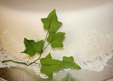 IVY Leaf Spray, Sugar Flowers, Cake Topper, Gum, Sugar Paste Leaves, Cake Topper
