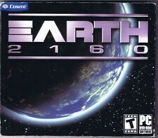Earth 2160 - Action Sci-Fi Strategy Mars Universe Heroes Armies Space PC NEW