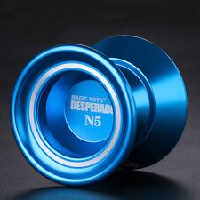 N5 Professional Nicht Reagierendes Yoyo mit Konkavem Lager Und 1 Saite   Blau