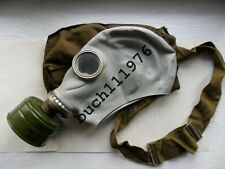 NBC USSR RUBBER GAS MASK GREY GP-5/IP5 Russian Soviet Military,sizes XS,S,M,L,XL