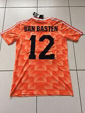 Van Basten Holland 1988 Camisa euro 88 países bajos grandes AC Milan Ajax Retro XL