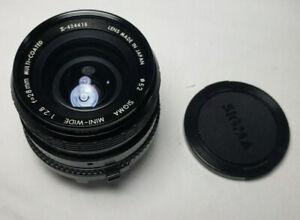 Sigma MINI-WIDE 28mm f/1:2.8 Macro Lens for MINOLTA MD Mount Cameras - Free Ship