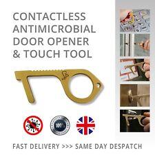 No hay contacto no táctil antimicrobiano de Latón Abridor de puerta detener los gérmenes clave de herramienta de mano
