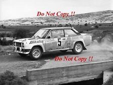 Walter Rohrl ALITALIA FIAT 131 ABARTH vincitore ACROPOLIS RALLY 1978 fotografia 6