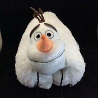 "Disney Frozen Olaf Large 18"" Plush Toy Pillow Pets Stuffed Animal 2016"