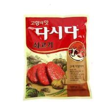 [CJ] DASIDA Korea Beef Soup Stock Bouillon Powder_NU