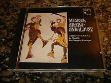 Gregorio Paniagua MUSIQUE ARABO-ANDALOUSE (CD 1977)Rare Atrium Musicae de Madrid