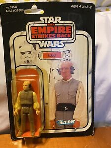 vintage star wars Esb Lobot Moc Sealed Punched