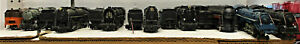 AHM, BACHMANN AND OTHERS STEAM LOCOMOTIVES HO SCALE 8 LOT (NO BOXES)