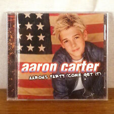 Aaron Carter Aaron's Party (Come Get It) CD Album Pop Jive