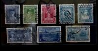 NEWFOUNDLAND 8 Fine Used Stamps G120  Free Shipping