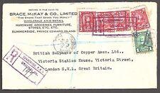 Canada-Provinces-du-Prince - Édouard est. 1933 Imprimé Housse - 2352