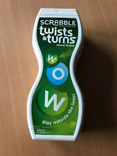 Scrabble Twists and Turns Word Game   Ideal For Travel Mattel