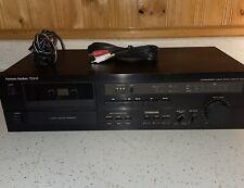 Vintage Harman Kardon Single Cassette Deck Td-212 Tested & Working Japan