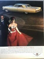 1963 Cadillac Dinner Gown Vintage Advertisement Print Art Car Ad Poster LG70