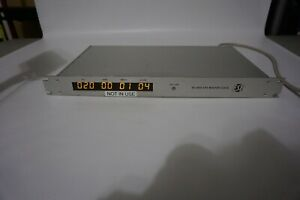 ESE ES-185A GPS master clock and time code generator.