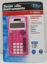 Texas Instruments TI30XIIS Fundamental Scientific Calculator (Pink)