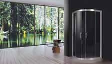 box cabina doccia semicircolare 80x80 cm in cristallo trasparente cabine bagno