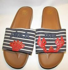 Cole Haan Sildes Sandals shoes size 8, 8.5 red white blue brown Spring Summer Nw