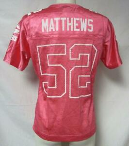Green Bay Packers Womens Size Small Clay Matthews #52 Jersey A1 1914