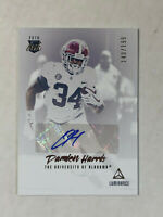 DAMIEN HARRIS 2019 Luminance BLUE INK RC SP AUTO /199! PATRIOTS ALABAMA!