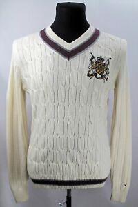 Tommy Hilfiger Men's sweater, Size S, Beige