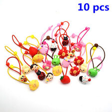 10PCS Cute Elastic Rope Ring Hairband Kids Candy Color Hair Band Ponytail Holder