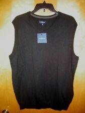 NWT NEW mens size S navy blue black CROFT /& BARROW sweater vest $40 free ship