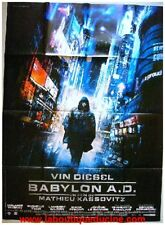 BABYLON AD Affiche Cinéma / Movie Poster VIN DIESEL