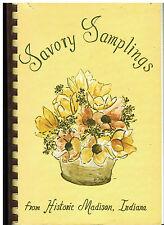 *MADISON IN 1972 VINTAGE *SAVORY SAMPLINGS COOK BOOK *PSI IOTA XI SORORITY LOCAL