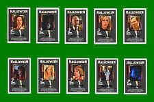 HALLOWEEN  -  FILM CHARACTER POSTCARDS SET # 1