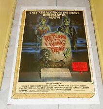 original THE RETURN OF THE LIVING DEAD Australian one-sheet poster