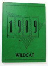 1989 Yearbook Sierra Vista Middle School Wildcats Arizona AZ Memorabilia History