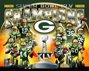 GREEN BAY PACKERS SUPER BOWL XLV *LICENSED* 8X10 PHOTO *LICENSED*