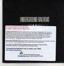 (BR90) Underground Railroad, Russian Doll - DJ CD
