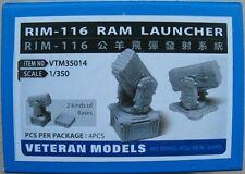 Veteran 1/350 RIM-116 RAM LAUNCHER resin upgrade